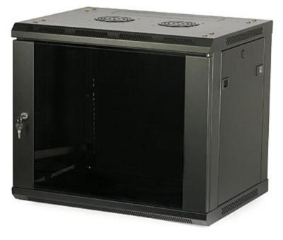LC-R19-W27U450 GFlex Tango S czarna - Wiszące szafy teleinformatyczne 19