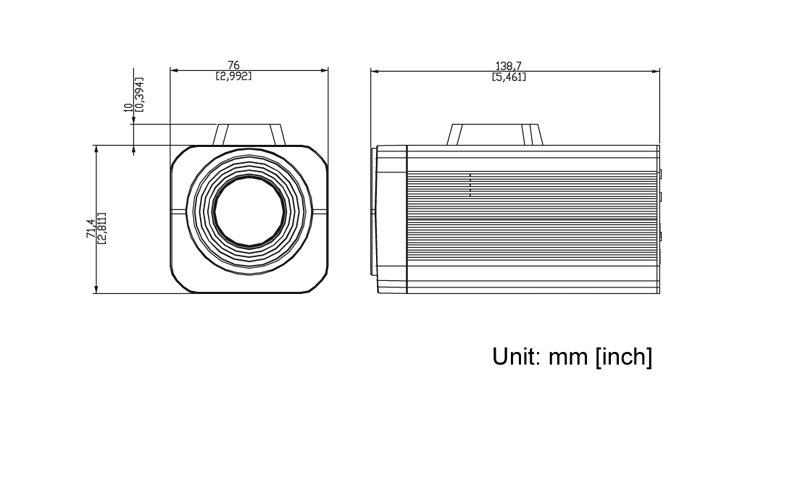 ACTi KCM-5211 - Kamery kompaktowe IP
