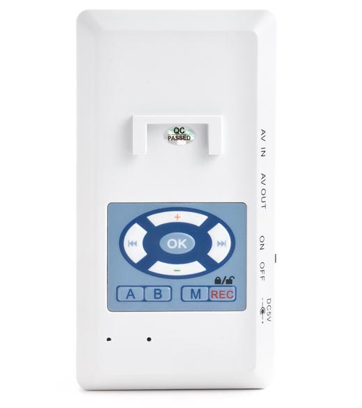 LC-110P - kamera i rejestrator w czujce PIR - Kamery miniaturowe
