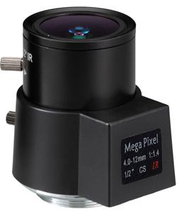 Obiektyw Mpix LC-M12VD412IR - Obiektywy megapikselowe