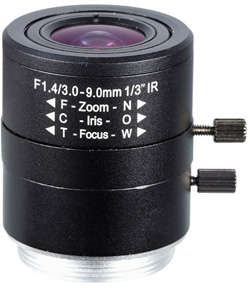 Obiektyw Mpix LC-M13VM309IR - Obiektywy megapikselowe