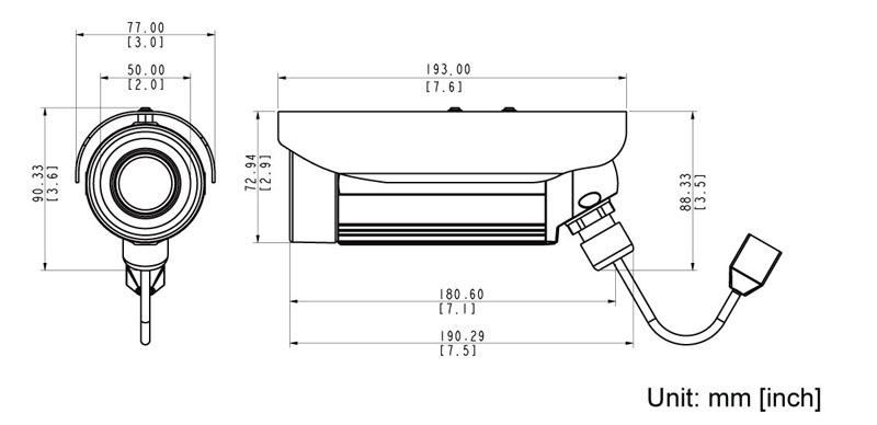 ACTi E33 - Kamery zintegrowane Mpix