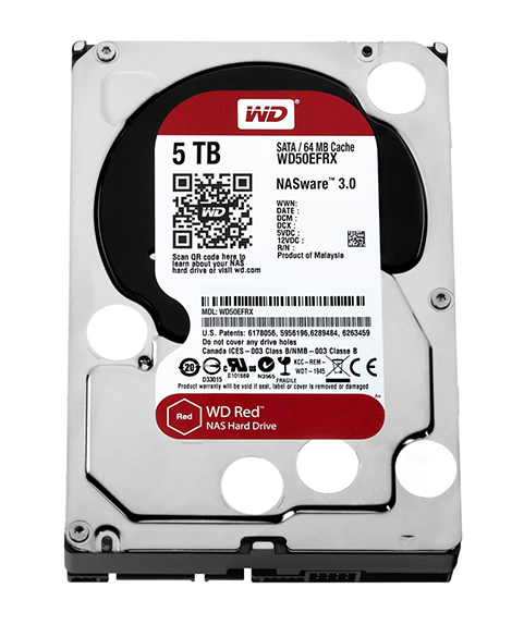 Western Digital dysk HDD WD RED 5 TB WD50EFRX SATA III - Dyski sieciowe