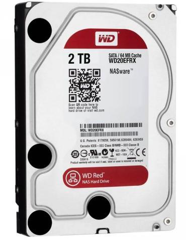 Western Digital dysk HDD WD RED 2TB WD20EFRX SATA III - Dyski sieciowe