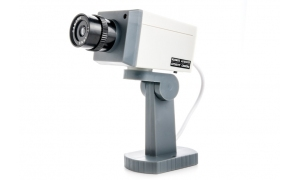 Atrapa kamery obrotowej z diodą