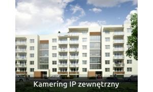 Zestaw kamering IP zewnętrzny
