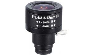 Obiektyw Mpix LC-M125BF3312IR