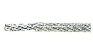 Linka stalowa LC-LS-5/100/PVC - 100 m
